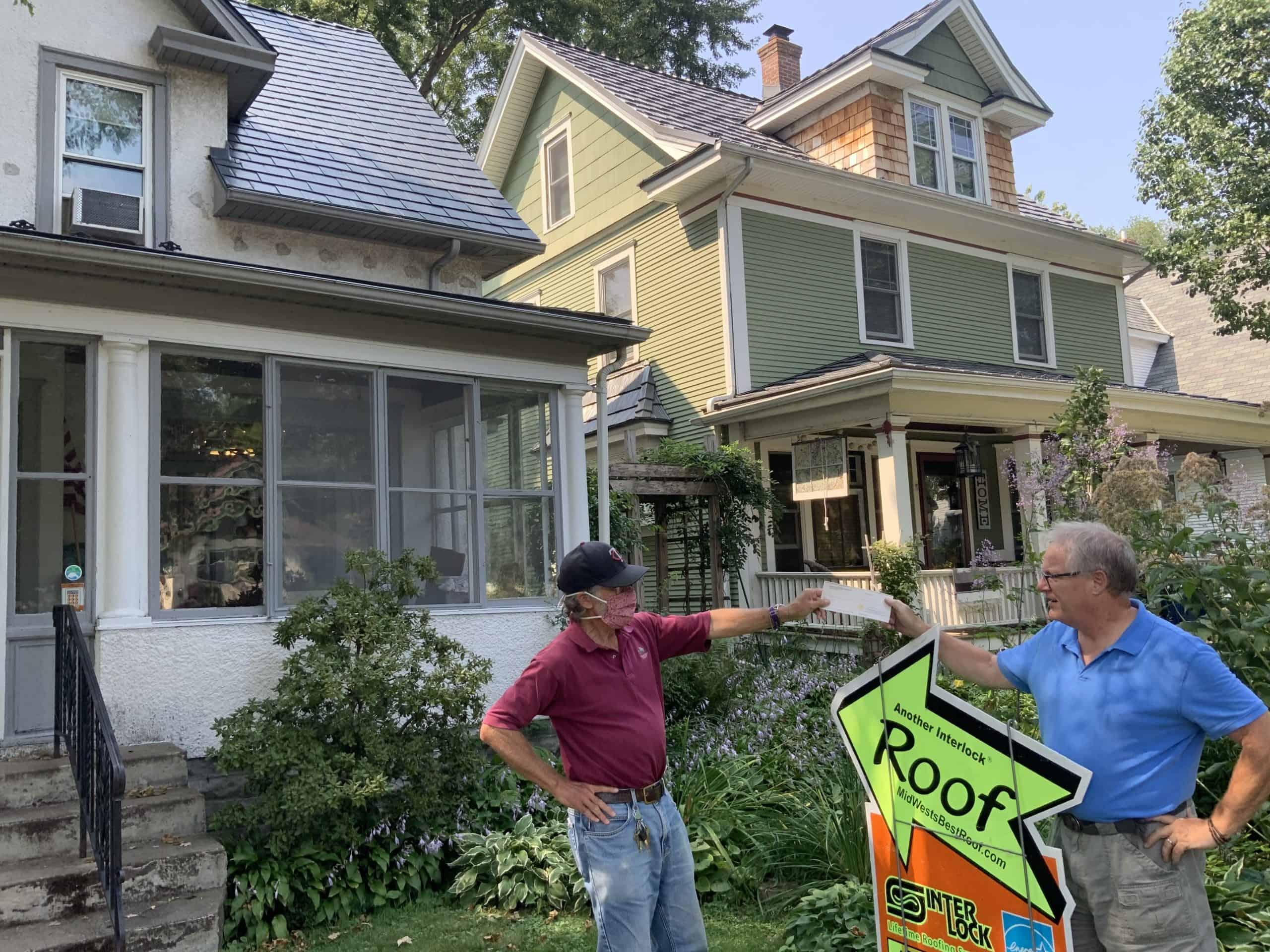 Minneapolis MN 55409 Interlock Roof