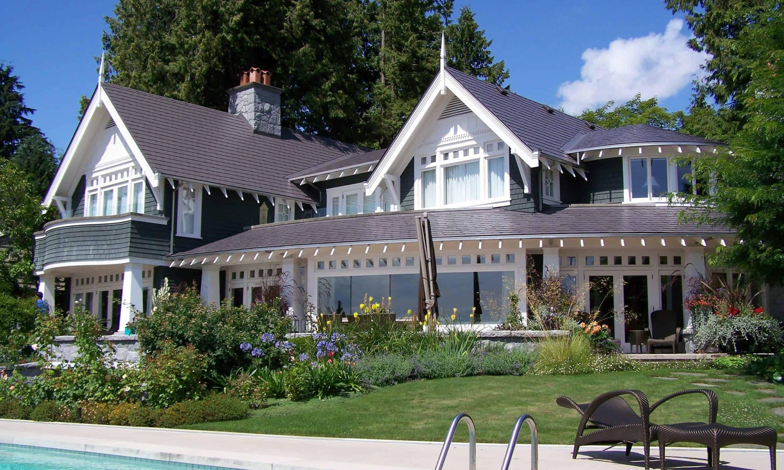 Metal Slate Roof made from Aluminum