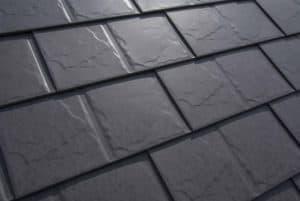 Slate Roofing - Weathered Interlock roof shingles