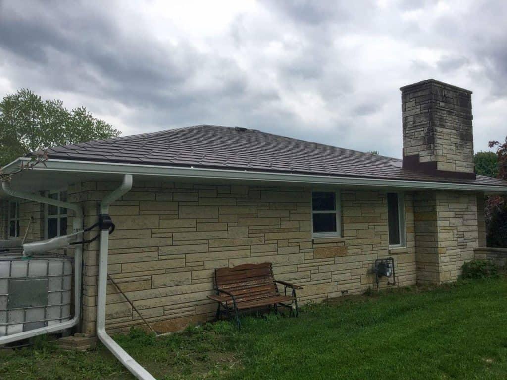 Kewaskum, WI USA Interlock Metal Roofing
