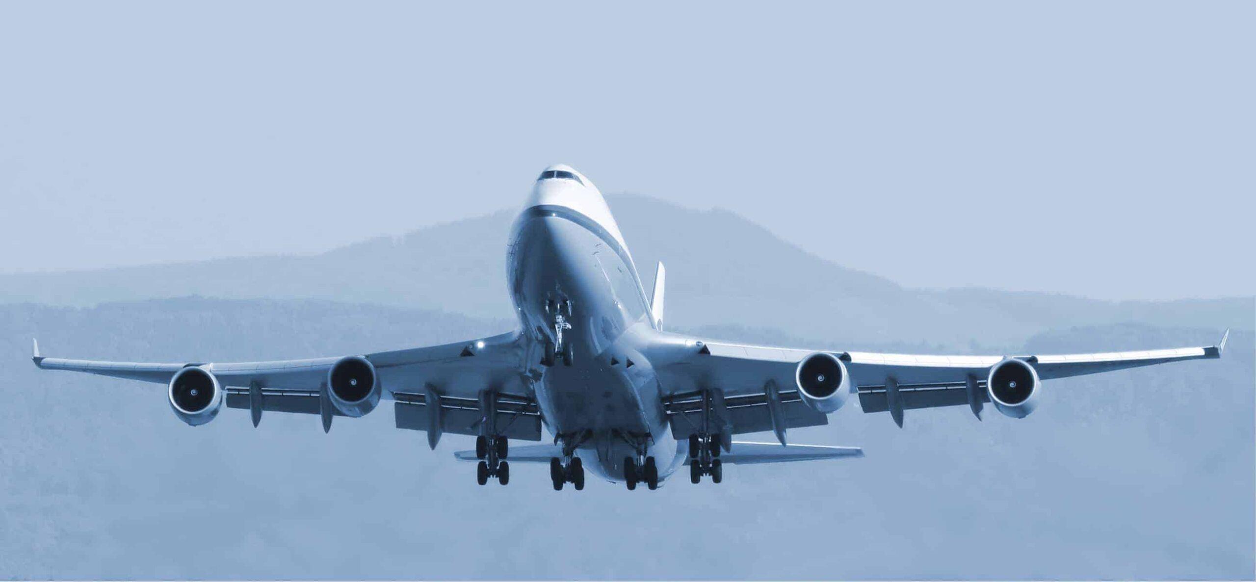 Aluminum Airplane Boeing 747