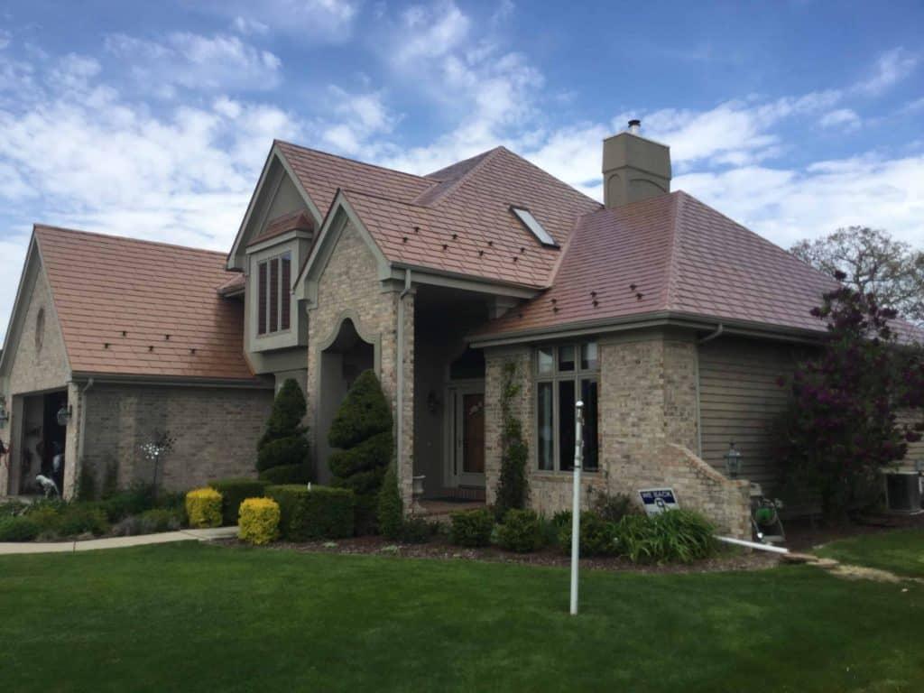 Franklin Wisconsin Metal Shingle Roofing